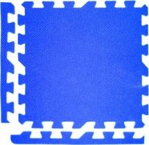 Мягкий пол универсальный, 9 дет., 30х30 см, синий, Pol-par
