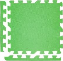 Мягкий пол универсальный, 9 дет., 30х30 см, зеленый, Pol-par