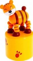 Дергунчик Лесная сказка Тигрёнок 8 см
