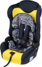 Автокресло «Формула скорости», жёлто-чёрный, Крошка Я