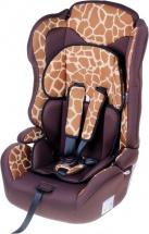"""Автокресло """"Жираф"""", цвет коричневый, Крошка Я"""