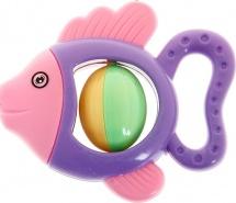 """Погремушка Крошка Я """"Рыбка с шариком"""""""