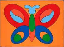Пазл Грат Сложи картинку. Бабочка