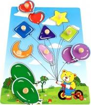 """Вкладыши """"Воздушные шары"""", Лесная сказка"""