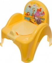 "Горшок - стульчик ""Сафари"", желтый, TEGA"
