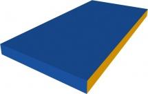 Мат Romana 100х50х10 см, синий/желтый