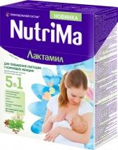 Молочный напиток NutriMa Лактамил для кормящих мам 350 г