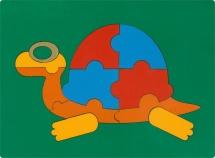 Пазл Грат Сложи картинку. Черепаха