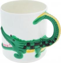 Кружка Курносики Сафари. Крокодил 200 мл