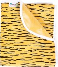 Пеленка GlorYes непромокаемая 80х68 см, тигруля