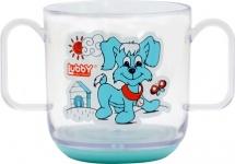 """Кружка Lubby """"Весёлые животные"""" 150 мл, голубой (собачка)"""