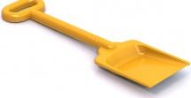 Лопата Нордпласт 49 см, желтый
