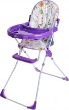 Стульчик для кормления Selby 152 Совы, фиолетовый
