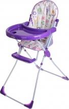 Стульчик для кормления Selby 152 Яркий луг, фиолетовый
