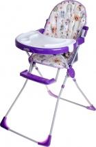 Стульчик для кормления Selby 251 Совы, фиолетовый