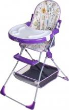 Стульчик для кормления Selby 252 Совы, фиолетовый