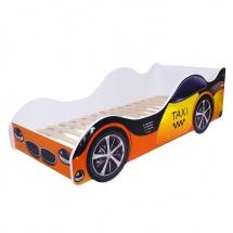 Кровать-машина «Таксолёт». ORANGE kids