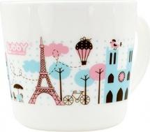 """Кружка Lubby """"Любимая"""" 200 мл, розовый (Париж)"""