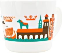 """Кружка Lubby """"Любимая"""" 200 мл, оранжевый (Амстердам)"""