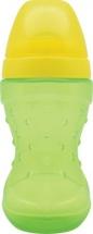 Поильник Lubby Спорт. Зеленый с мягким носиком 230 мл