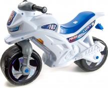 Каталка-мотоцикл Орион Police со шлемом и звуком