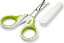 Ножницы Nuk, зеленый