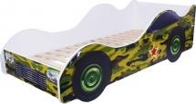 Кровать-машина «Камуфляж», ORANGE kids