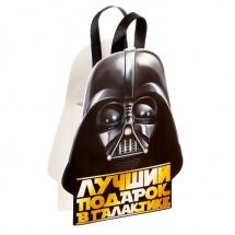 """Пакет-открытка """"Лучший подарок в галактике"""" Звездные войны"""