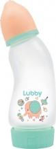 Бутылочка Lubby Малыши и Малышки Антивздутик Слоник 250 мл
