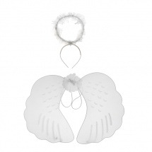 "Набор ""Ангел"" (крылья, нимб)"