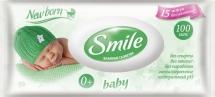 Влажные салфетки Smile Baby 100 шт