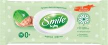 Влажные салфетки Smile Baby фитолиния 100 шт