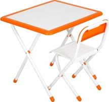 "Набор мебели Дэми №3 ""White"", оранжевый"
