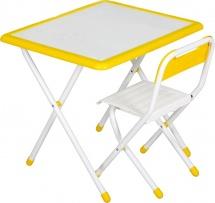 """Набор мебели Дэми №3 """"White"""", желтый"""