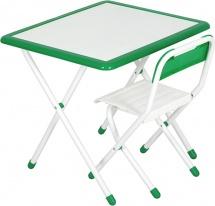 """Набор мебели Дэми №3 """"White"""", зеленый"""