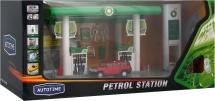 Игровой набор Petrol Station с машиной Hummer H3 (свет, звук)
