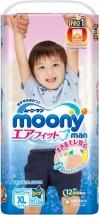 Трусики Moony для мальчиков XL (12-17 кг) 38 шт