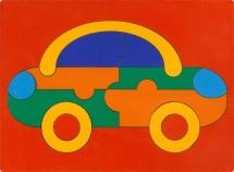 """Пазл """"Сложи картинку. Автомобиль"""", Грат"""