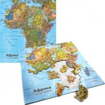 Карта-пазл. Африка