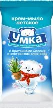 Крем-мыло Умка с протеинами молока и экстрактом алоэ вера 80 г