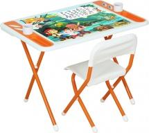 """Набор мебели Дэми """"Джейк и пираты Нетландии"""", оранжевый"""