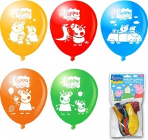 """Воздушные шары """"Peppa Pig"""", 10шт"""