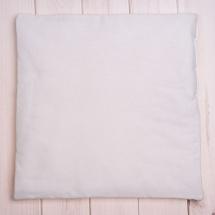 Подушка детская Оранжевое небо 38х38, белый
