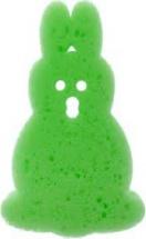 """Губка для купания """"Зверюшки"""", заяц, зеленый, Canpol"""