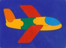 Пазл Грат Сложи картинку. Самолет