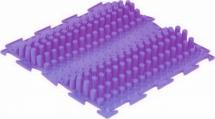"""Массажный коврик Орто """"Волна"""" жесткий 25x25 см, фиолетовый"""