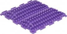 Массажный коврик Орто Волна жесткий 25x25 см, фиолетовый