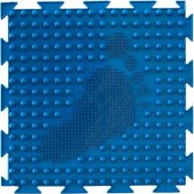 Массажный коврик Орто Елочка мягкий 25x25 см, синий
