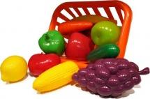 """Набор """"Фрукты и овощи"""" в корзине, Совтехстром"""