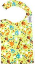 Нагрудник GlorYes Жирафы с карманом